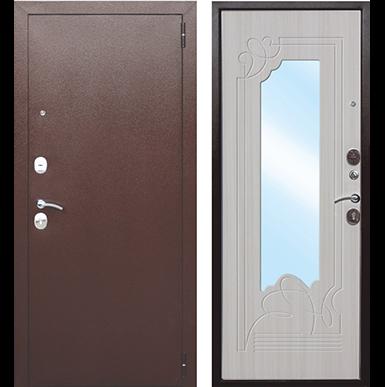 Дверь входая Ferroni Йошкар-Ола Ампир с зеркалом от 7600руб