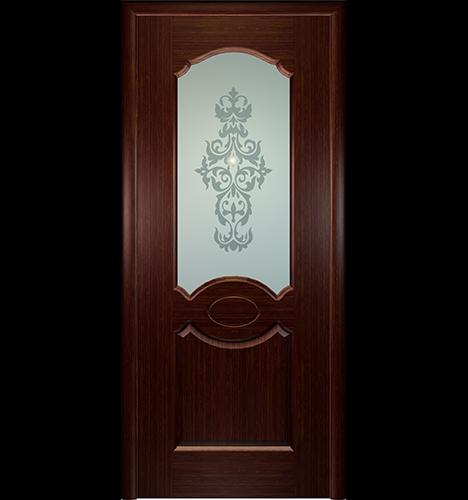 Дверь межкомнатная Империя. Шпон натуральный, Венге от 2500руб